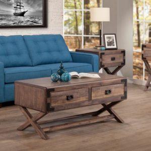 Saratoga X-Base Living Room Set