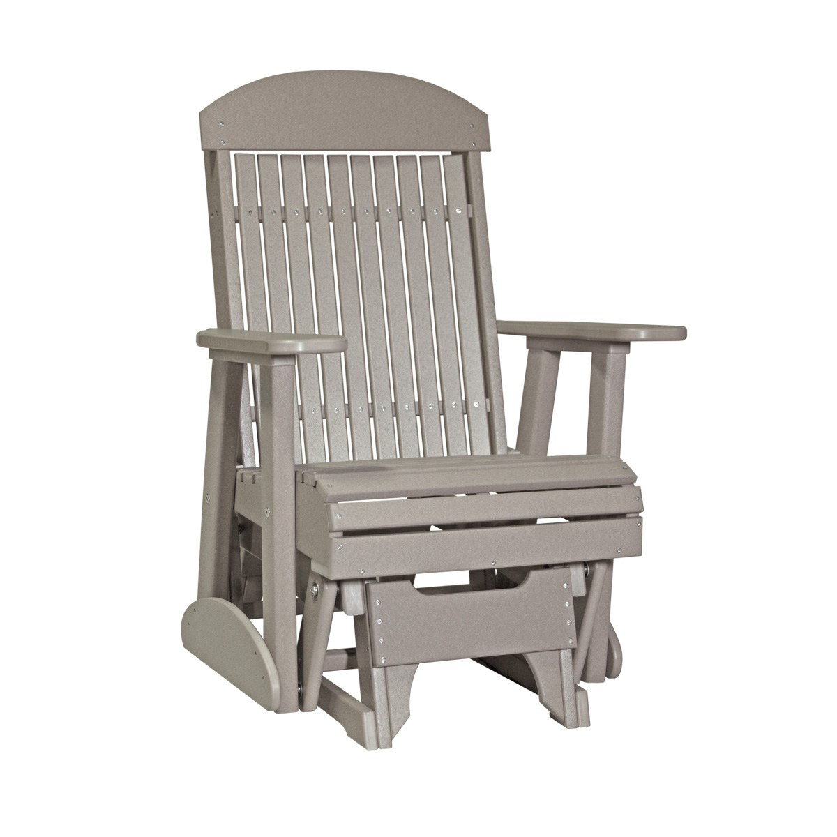 Single Classic Glider Patio Furniture Fine Oak Things