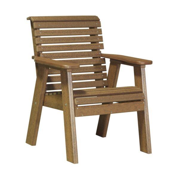 Single Plain Bench - Antique Mahogany