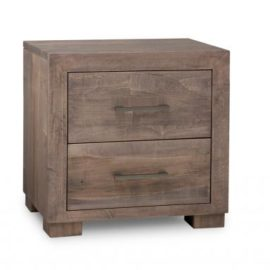 Steel City 2-Drawer Nightstand