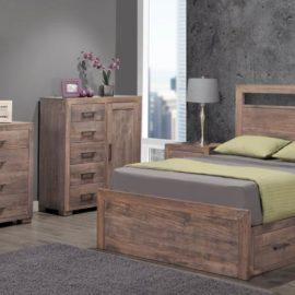 Steel City Bedroom Set (Queen)
