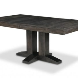 Steel City Dining Table (Pedestal)
