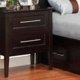 Stockholm 2-Drawer Nightstand