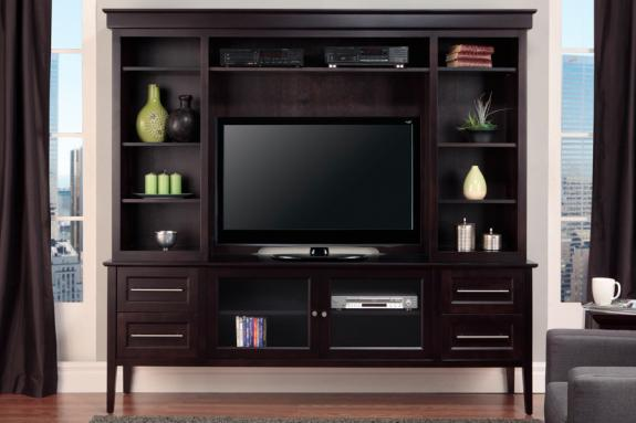 with tv bifold ideas doors cabinets consoles hutch biz themiracle and door for
