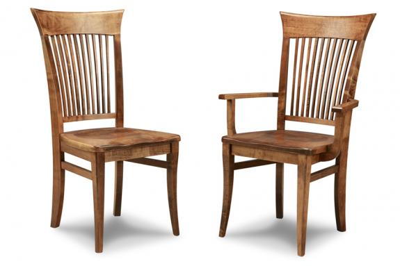Stockholm Dining Chair (Side & Arm)