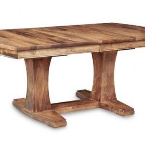 Stockholm Dining Table (Pedestal)