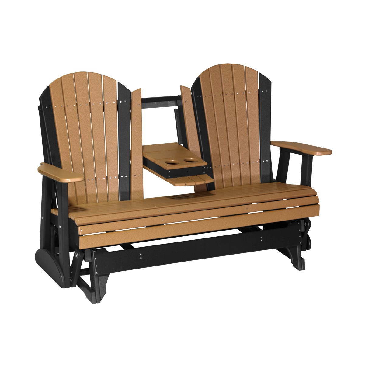 Triple Adirondack Glider Patio Furniture Fine Oak Things