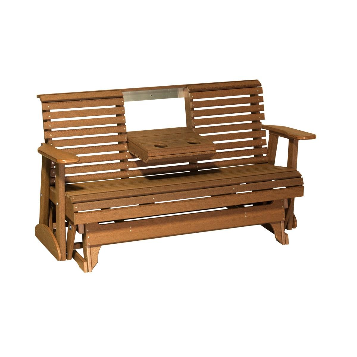 Triple Plain Glider Patio Furniture Fine Oak Things