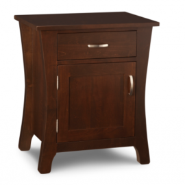 Yorkshire 1-Door 1-Drawer Nightstand