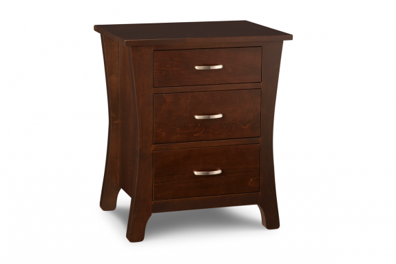 Yorkshire 3 Drawer Nightstand Solid Wood Nightstands : Yorkshire 3 Drawer Nightstand from fineoakthings.com size 575 x 383 png 116kB