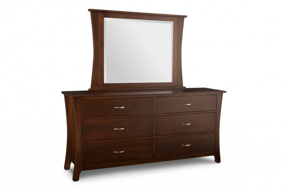 Yorkshire 6-Drawer Long Dresser | Handcrafted Bedroom ...