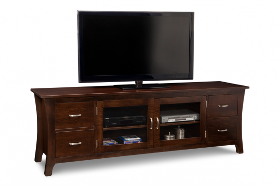 Yorkshire 84 Quot Tv Stand Handcrafted Solid Wood Tv Stands