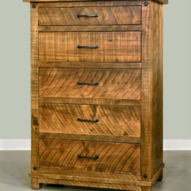 Adirondack 5-Drawer Highboy Chest