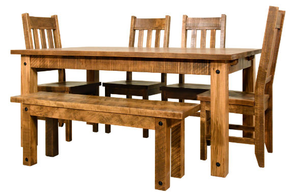 Adirondack Dining Set Rustic Dining Tables Mennonite
