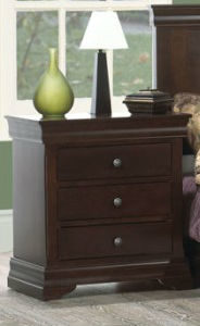 Bayshore 3-Drawer Nightstand