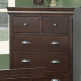 Bayshore 4-Drawer Split Highboy Chest