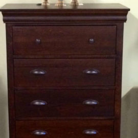 Bayshore 5-Drawer Highboy Chest
