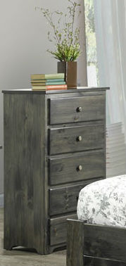Classic 5-Drawer Highboy Chest