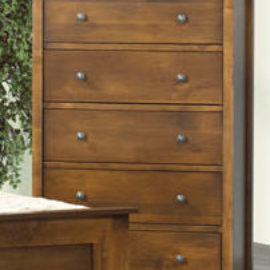Harbourside 5-Drawer Highboy Chest