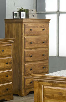 Henley 5-Drawer Highboy Chest
