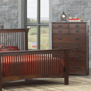 Mission Revival Bedroom Set (Queen)