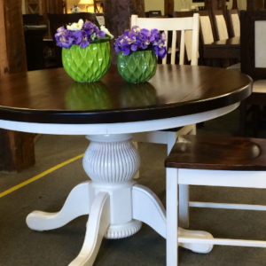 Potbelly Round Dining Table