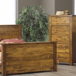 Rough Sawn Bedroom Set (Queen)