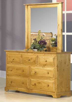 Thomas 7 Drawer Dresser Canadian Solid Wood Bedroom Furniture