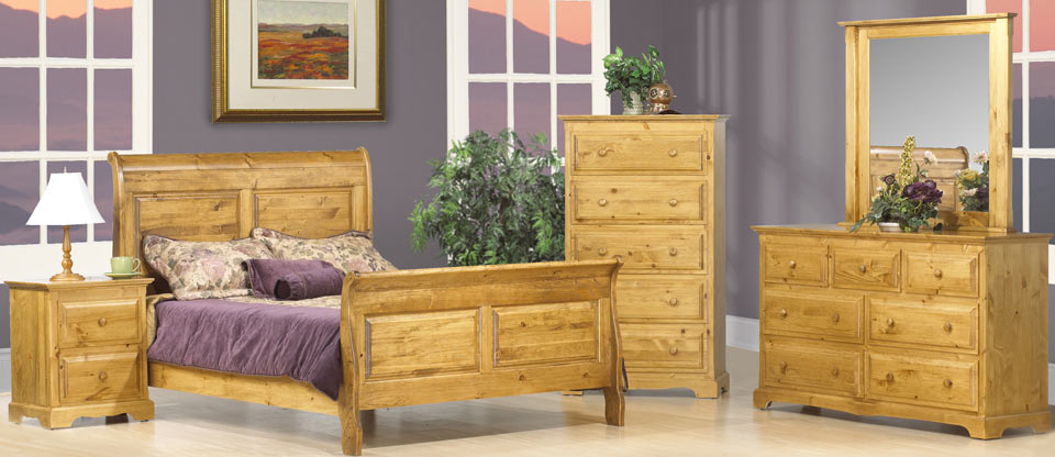 Thomas Sleigh Bedroom Set Canadian Solid Wood Bedroom Furniture