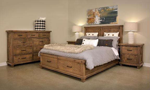 Truss Bedroom Set Rustic Wood Bedroom Furniture