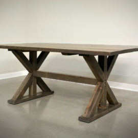 Truss Dining Table (Trestle)
