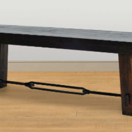 Benchmark Dining Bench