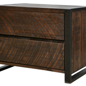 Carson 2-Drawer Nightstand