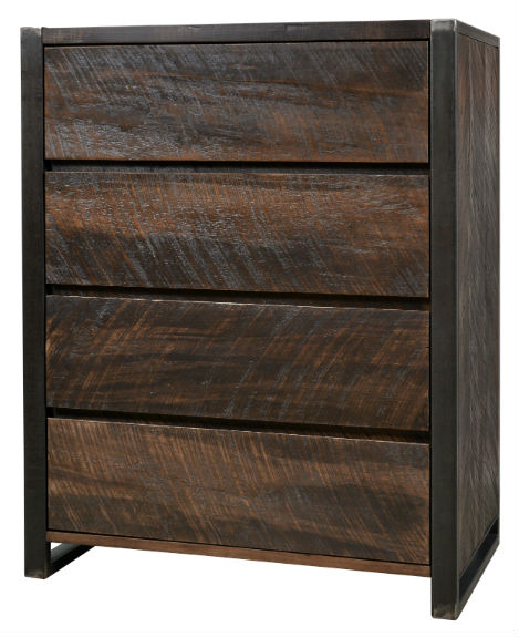 Carson 4-Drawer Highboy Chest