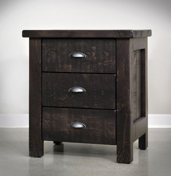 Eko 3 Drawer Nightstand
