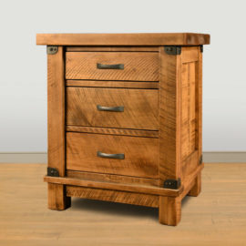 Galley 3-Drawer Nightstand