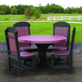 Round Table 5-Piece Patio Dining Set