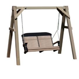 A-Frame Swing Stand - Clay Vinyl