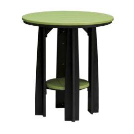 Balcony Table - Lime Green & Black