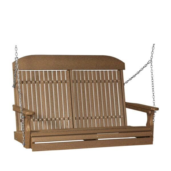 Double Classic Swing - Antique Mahogany