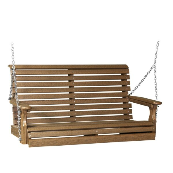 Double Plain Swing - Antique Mahogany