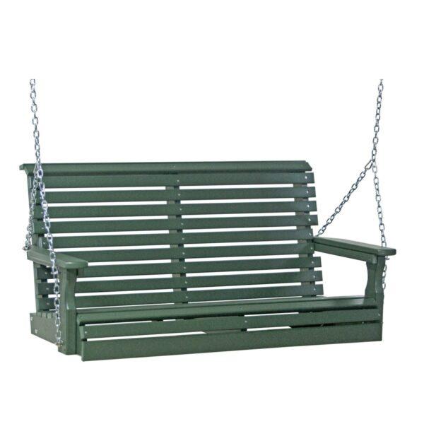 Double Plain Swing - Green