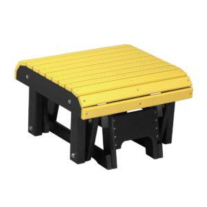 Glider Footrest - Yellow & Black