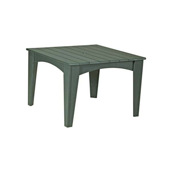 Island Square Table - Green