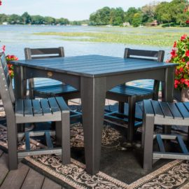 Island Table 5-Piece Patio Dining Set