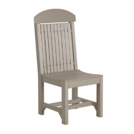 Outdoor Dining Chair (Dining Height Shown) - Weatherwood