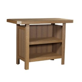 Outdoor Serving Bar - Antique Mahogany