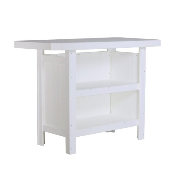 Outdoor Serving Bar - White