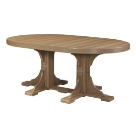 Oval Table - Antique Mahogany