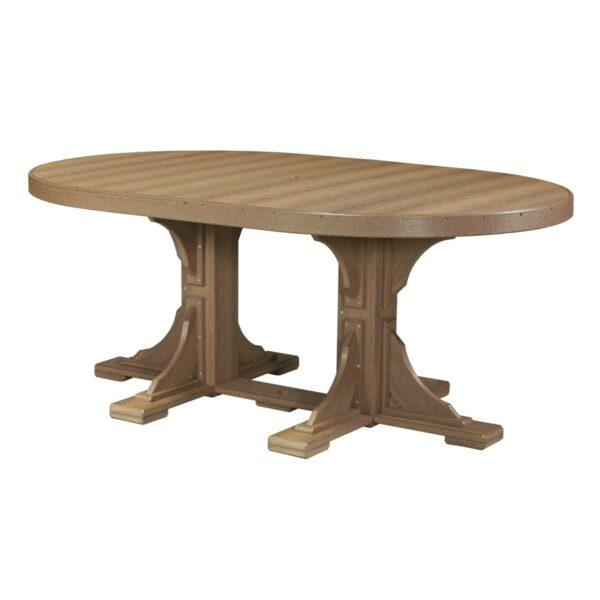 Oval Table - Antique Mahogany